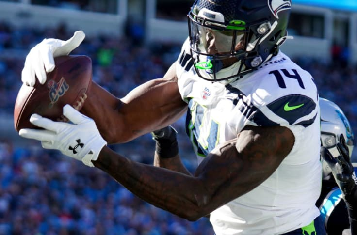 D K Metcalf Could Have Seahawks First 1 300 Yards Receiving Season