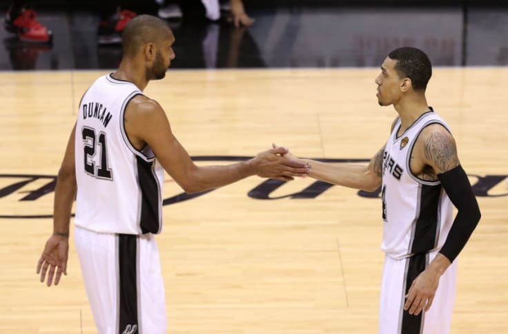 Spurs Danny Green Compares Duncan To Lebron On Their Leadership