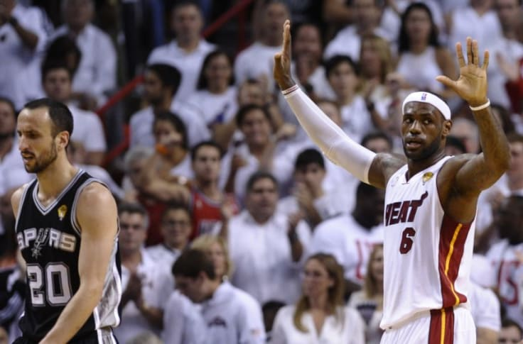 San Antonio Spurs: LeBron James' Game 7 stats in the 2013 NBA Finals
