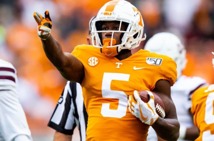 Tennessee football early NFL Draft predictions: Vols WR Josh Palmer