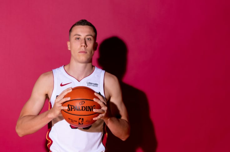 Miami Heat What To Make Of Duncan Robinson Studying The Greats