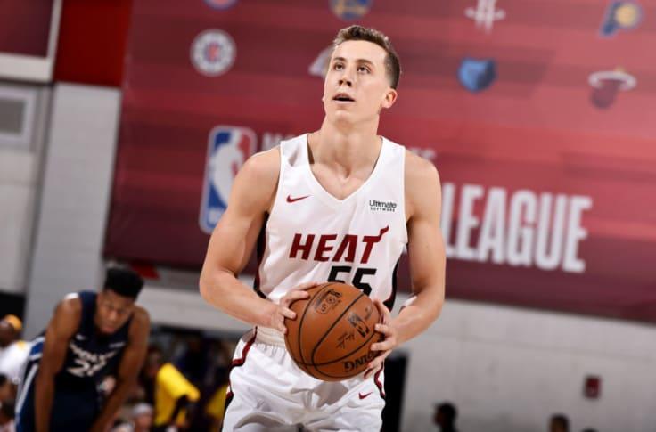 Miami Heat Guarantee Duncan Robinson S Contract For 2019 20 Season