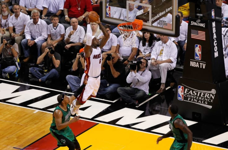 Miami Heat Lebron James Not A Top 5 Player According To Paul Pierce
