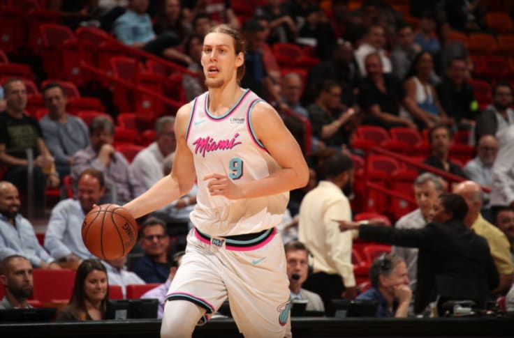 The Miami Heat Tip Off Introducing The Kelly Olynyk Show