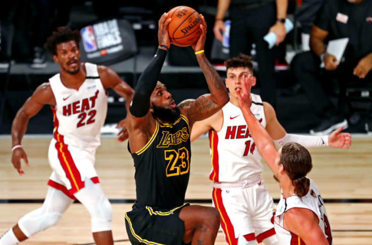 Miami Heat The View From Both Sides Thus Far In Nba Finals