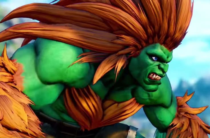 Street Fighter V Blanka Gameplay You Ll Have A Ball