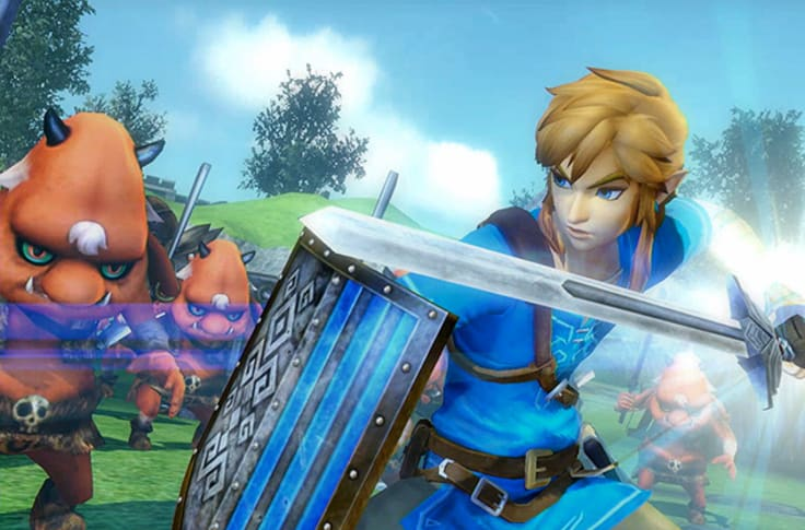 Hyrule Warriors Switch Review Link Stars In Another Game On The Switch