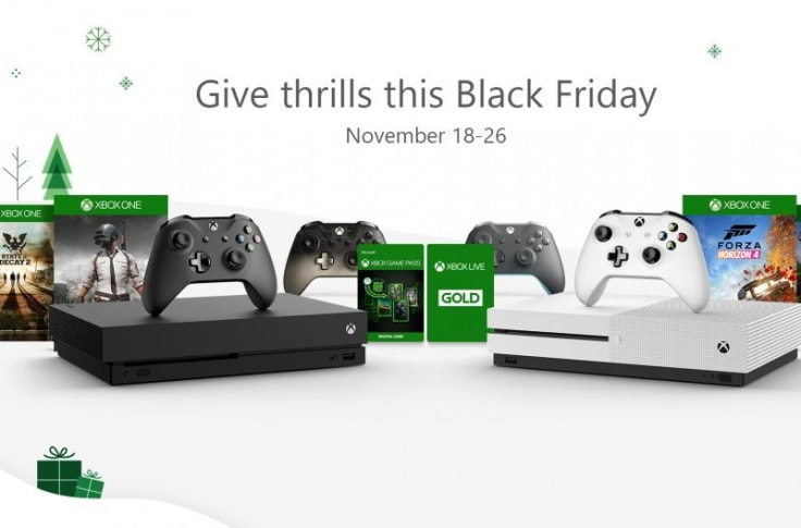 Xbox Black Friday 2018 Deals Announced By Microsoft
