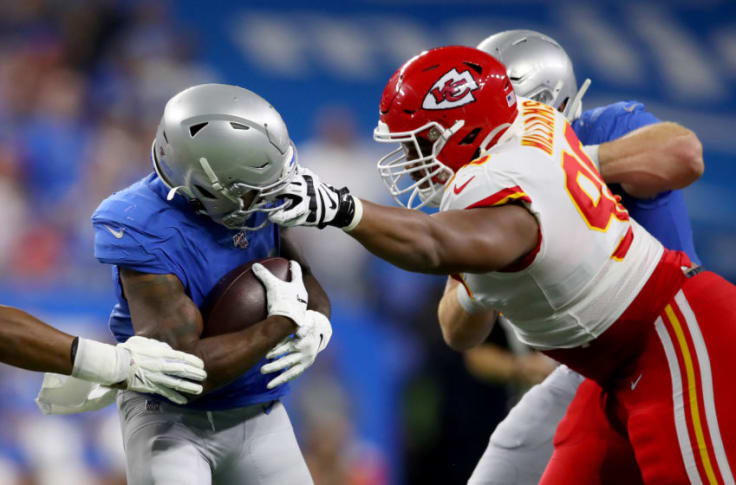 Former Chiefs Lineman Xavier Williams Works Out For Patriots