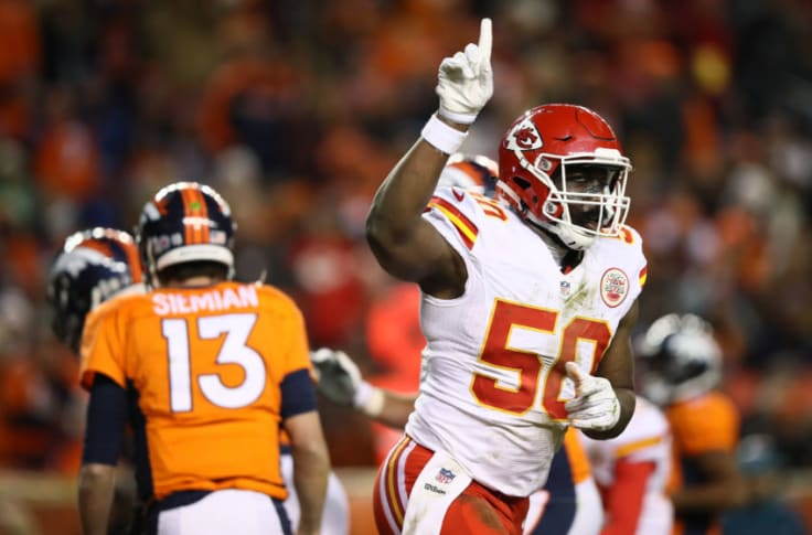Justin Houston Suffered From An Unfair Shadow Of His Own Making