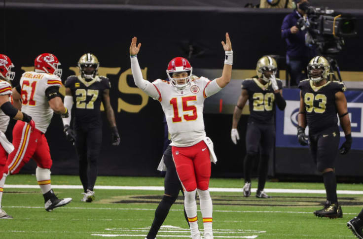 Patrick Mahomes lead Chiefs to tough road win over Saints in Week 15