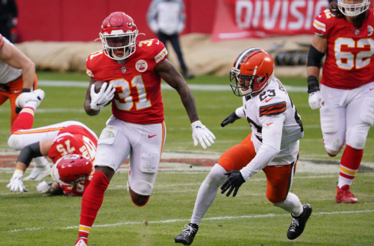 Darrel Williams delivered an exceptional performance for Chiefs against  Browns
