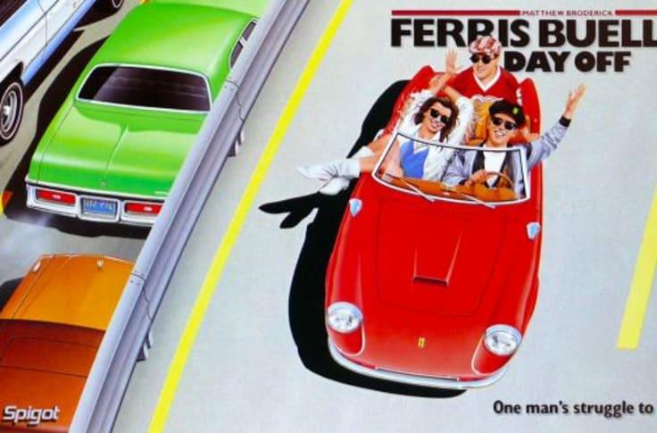 Ferris Bueller S Day Off And The 1961 Ferrari 250 Gt California Art Of Gears