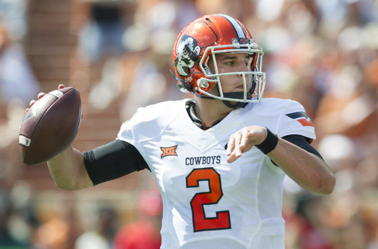 Atlanta Falcons Should Draft Quarterback Mason Rudolph