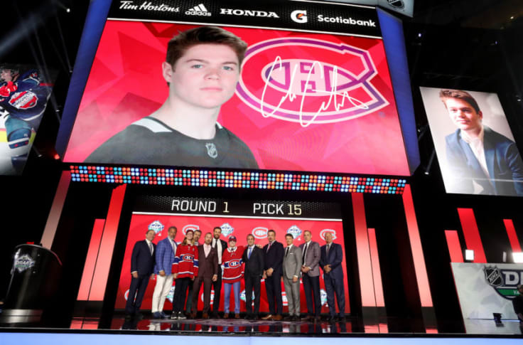 Canadiens June Draft Without Trades Would Fit With Habs Plan