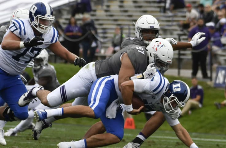 Duke Football Jones Injury Affects More Than Duke S Immediate Schedule