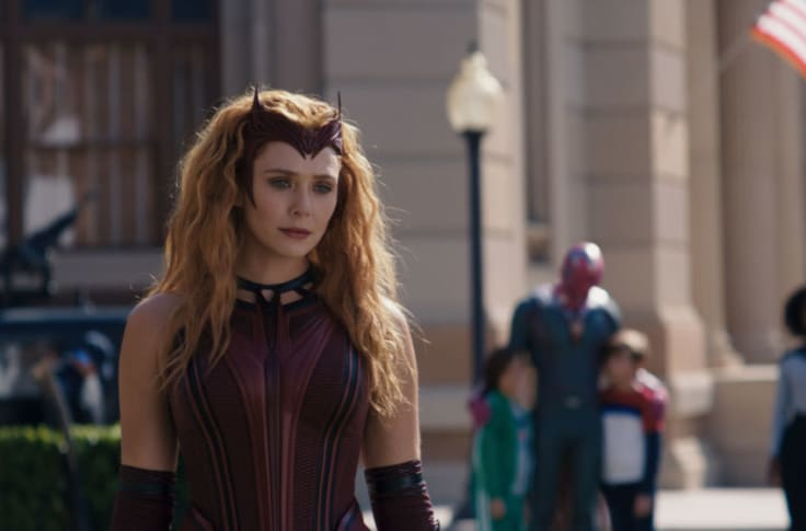 The scarlet witch marvel
