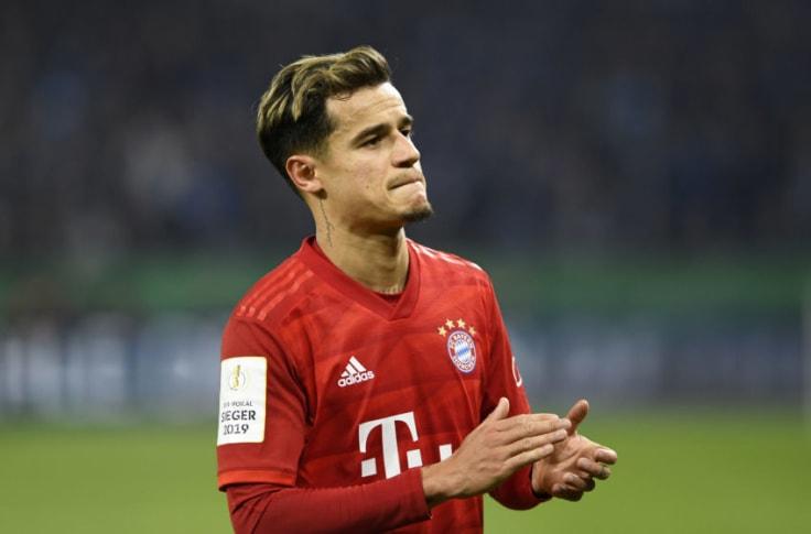 Bayern Munich player Philippe Coutinho - Photot credit: Goal.com