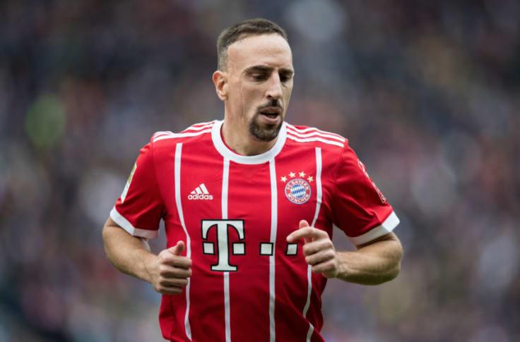 Former Bayern Munich player slams injured Franck Ribery