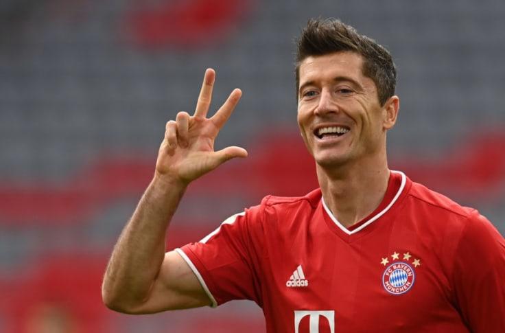Bayern Munich: Robert Lewandowski continues to break records