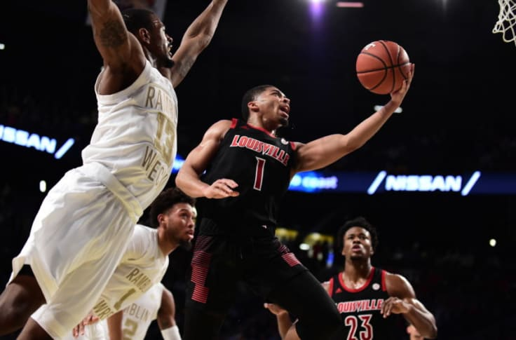 Louisville Basketball Cards Dominate Georgia Tech From Start To Finish
