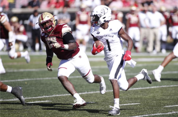 Way Too Early Louisville Football Depth Chart Preview Pass Catchers
