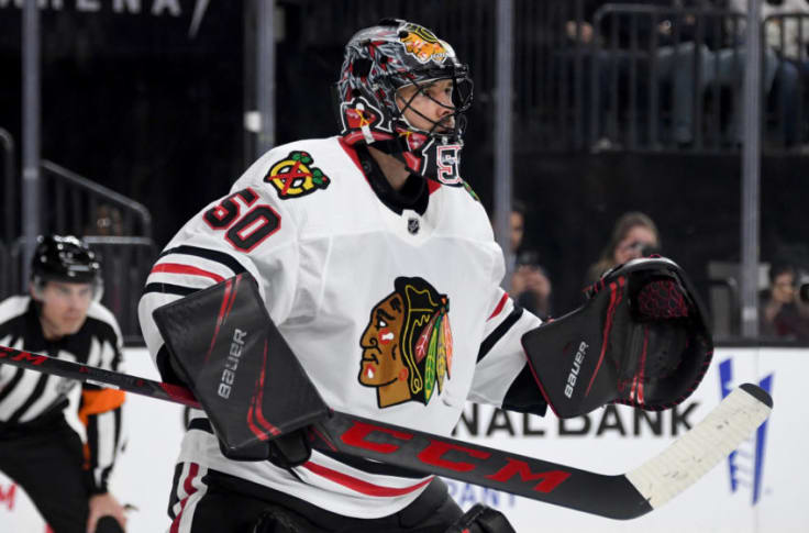 Blackhawks Does Corey Crawford Sign For 3 5m