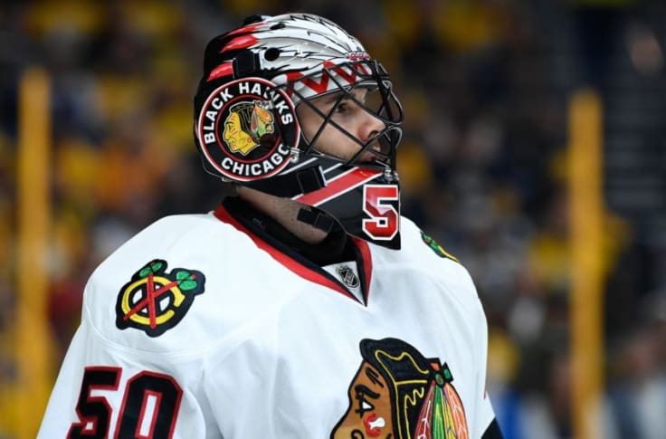 The Corey Crawford Era Is Over With The Chicago Blackhawks
