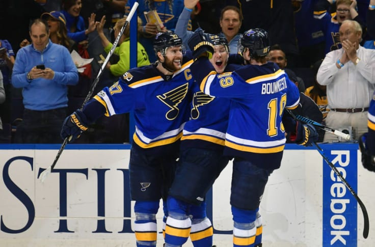 St Louis Blues Early Guesses At Defensive Pairings