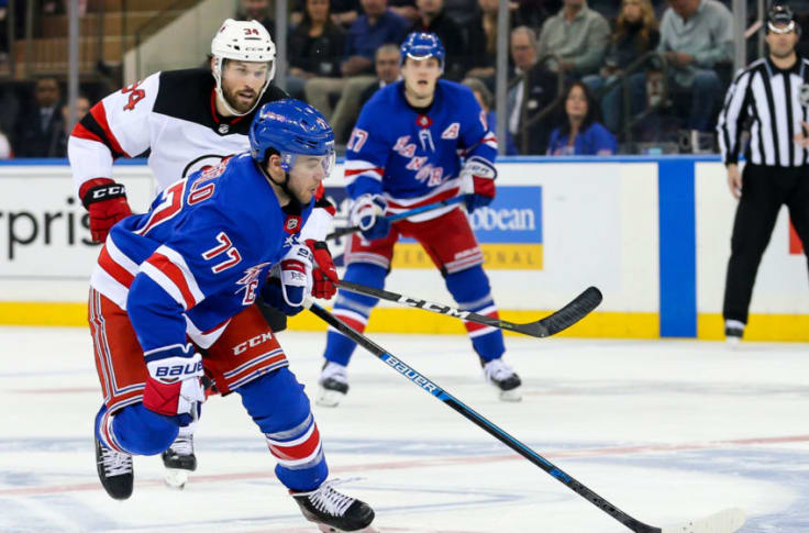 New York Rangers The Similar Neal Pionk And Tony Deangelo Situation