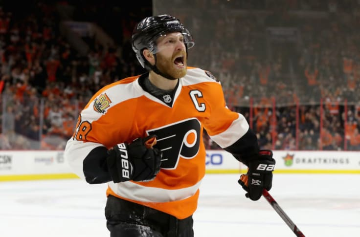 Flyers Does The Reverse Retro Jersey Look Good On Claude Giroux