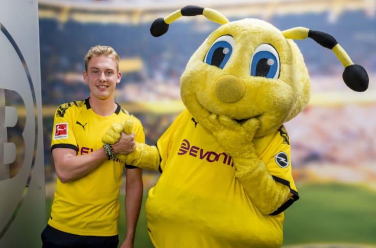 Borussia Dortmund Sign Julian Brandt On Five Year Deal