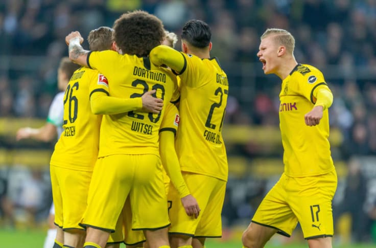 Predicted Borussia Dortmund Xi For Bundesliga Clash Against Schalke 04