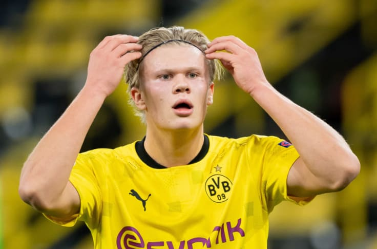 Erling Haaland Fit For Ucl Clash Despite Missing Bielefeld Win Through Injury