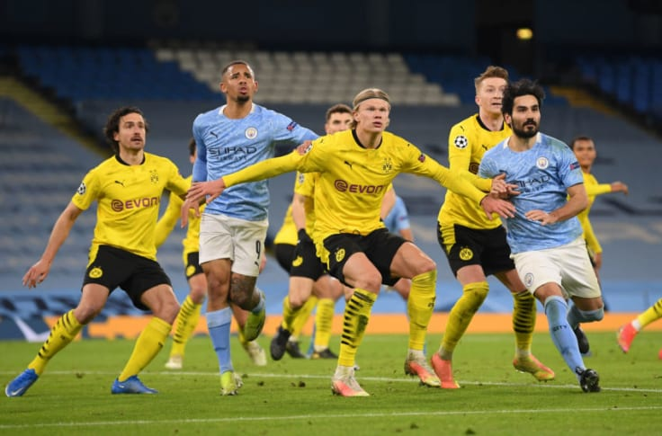 Watch Borussia Dortmund Vs Manchester City Live Stream And Tv Info