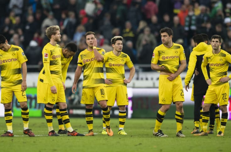 Match Report Borussia Dortmund Suffer Damaging Defeat Against Hannover 96
