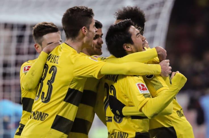 Fsv Mainz 05 0 2 Borussia Dortmund Stoger Debut Sees Bvb Ended Winless Streak