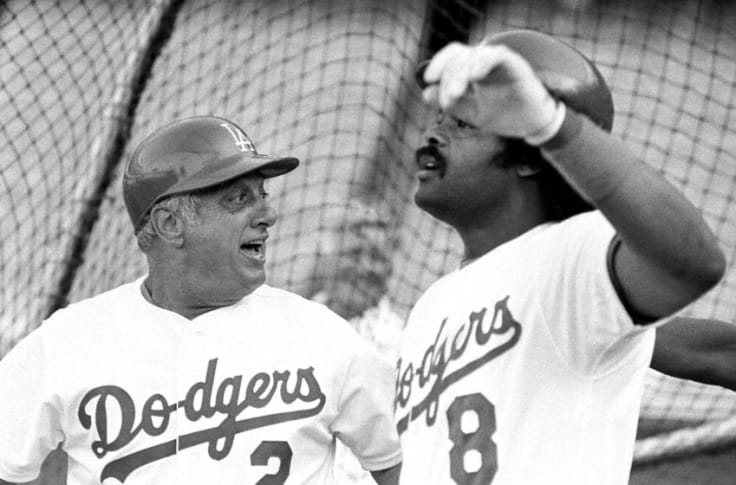 Dodgers: A look back at Tommy Lasorda's pitching career