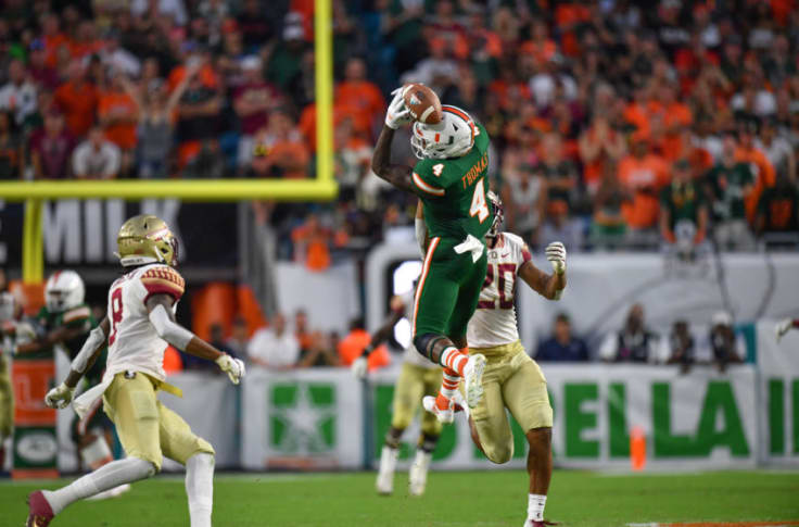 Miami Hurricanes Wr Jeff Thomas Should Be Ready For Uva