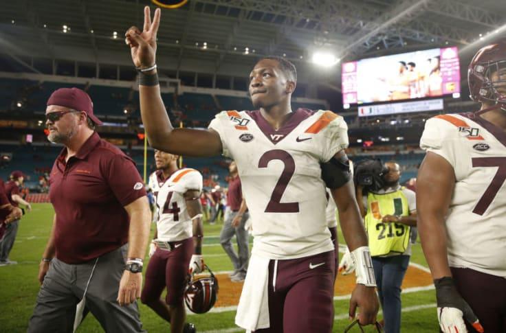 Miami Football Defense Did Not Seem Ready For Vatech Qb Hendon Hooker