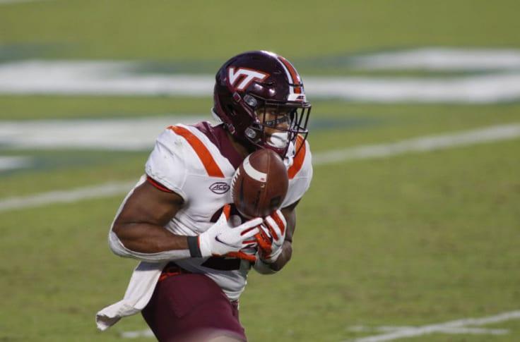Virginia Tech Missing Star Rb Khalil Herbert Versus Miami Football