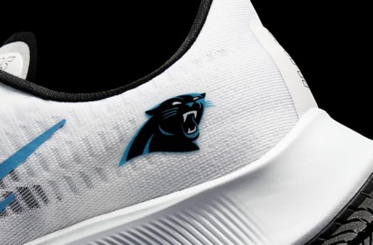 These new Carolina Panthers Nike shoes