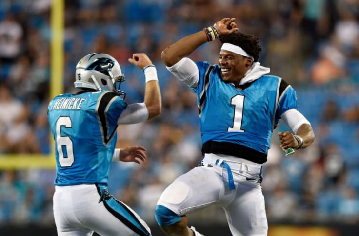 Cam Newton Forfeits Heave As Backup Taylor Heinicke Steps In