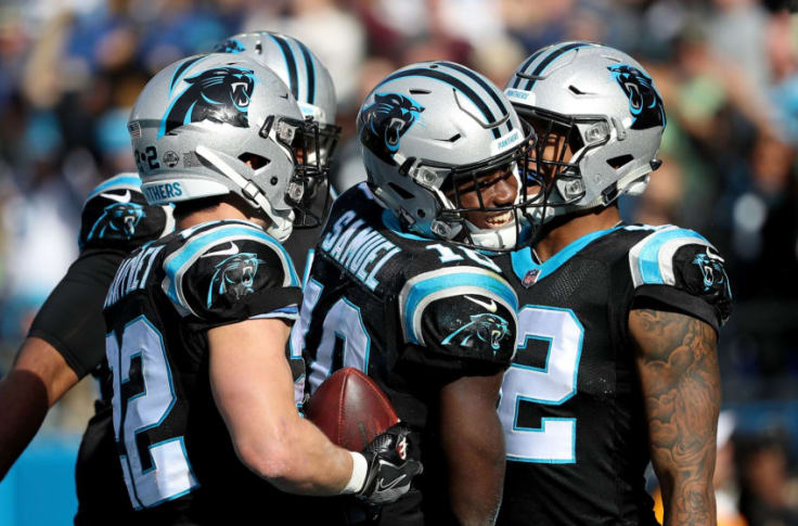 Carolina Panthers wide receiver competition expected to be fierce