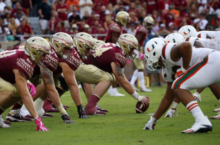 Miami hurricanes vs florida state betting line obey clothing line history betting