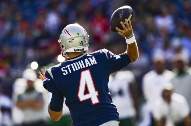 New England Patriots Rumors Jarrett Stidham Hype Train Full Steam Ahead