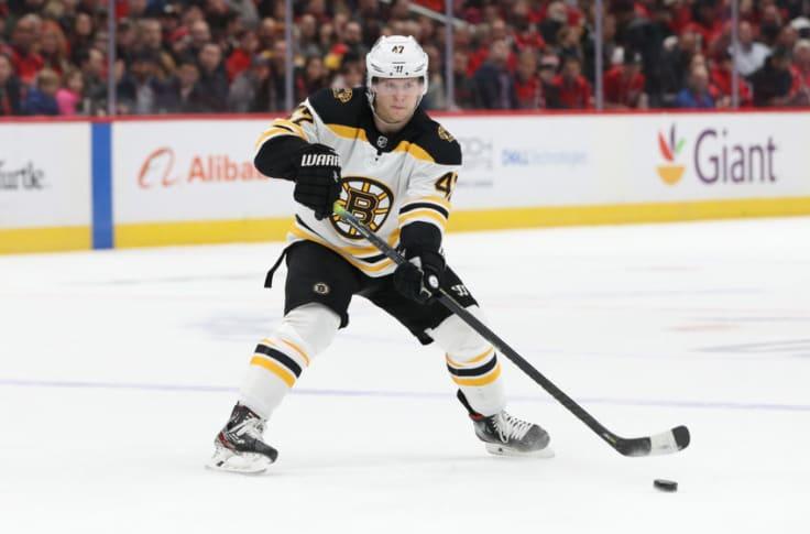 Boston Bruins Rumors A Torey Krug Deal Is Long Gone