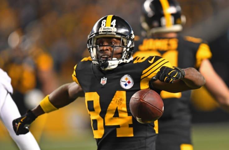 Pittsburgh Steelers Antonio Brown Wins Another Prestigious Nfl Award