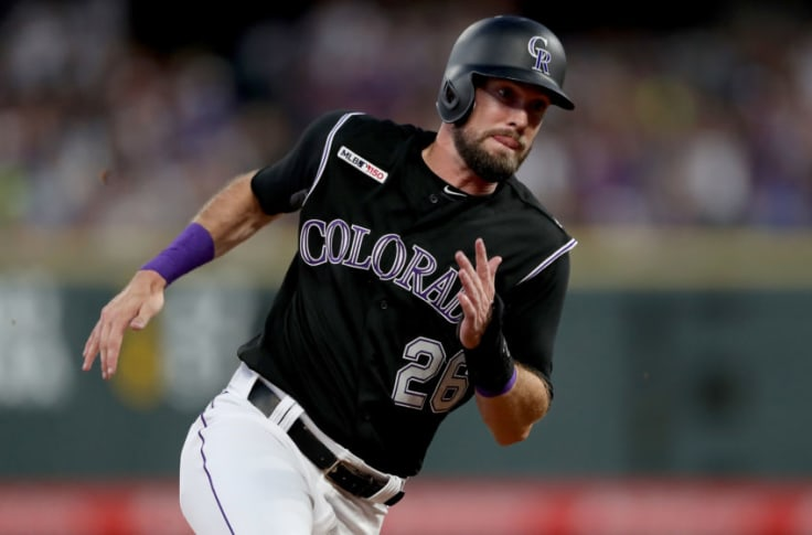 Potential Cubs Target David Dahl Signs One Year Deal With The Rangers