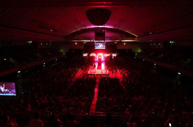 OSAKA, JAPAN - OCTOBER 10: General view during the New Japan Pro-Wrestling 'G1 Climax 30' at Edion Arena Osaka on October 10, 2020 in Osaka, Japan. (Photo by Etsuo Hara/Getty Images)